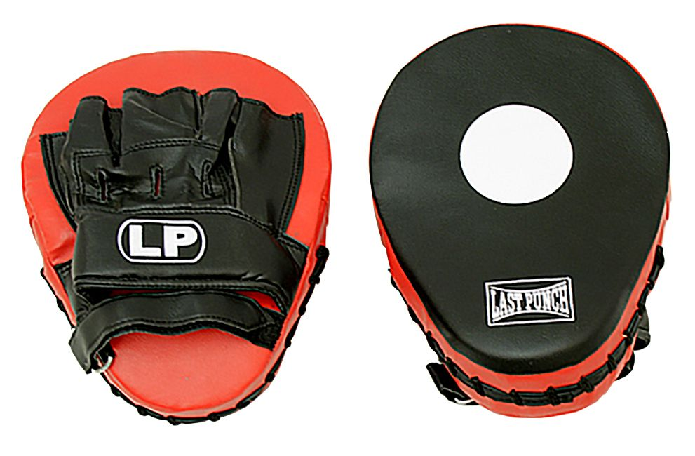 Boxing Gloves Pre Curved Coaching Training Pro Quality