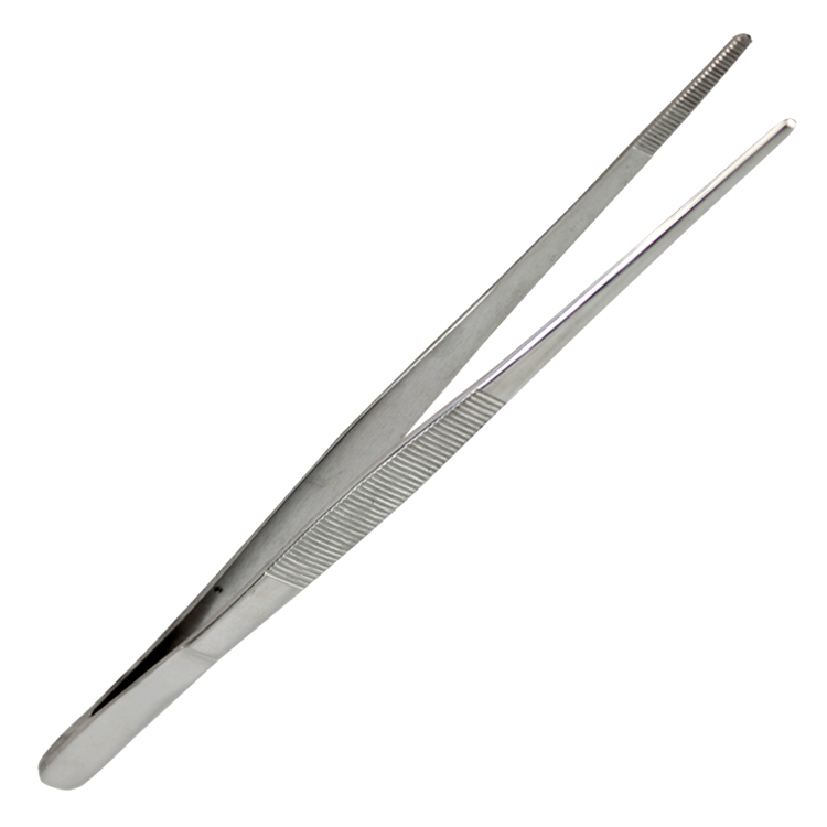 Bdeals General Purpose Thumb Dressing Forceps Tweezers 5.5