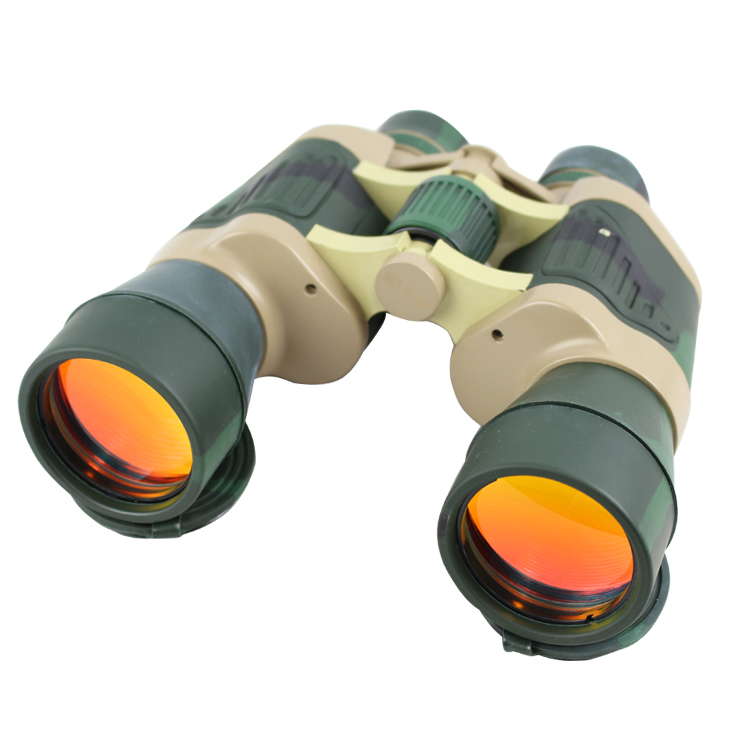 Perrini 20x50 High Resolution Outdoor Ruby Coated Wholesale Binoculars Camo