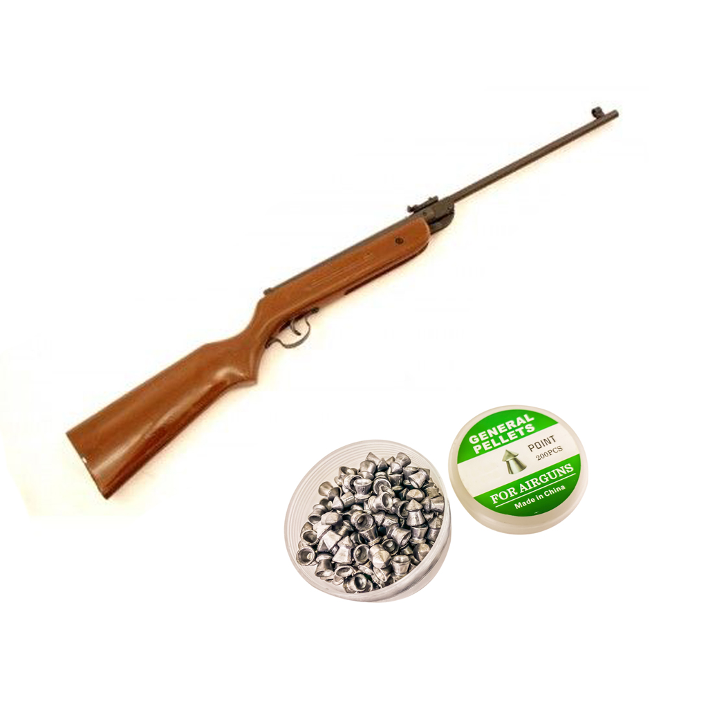 B1 4.5mm Caliber Air Gun Pellet Rifle 177 Caliber