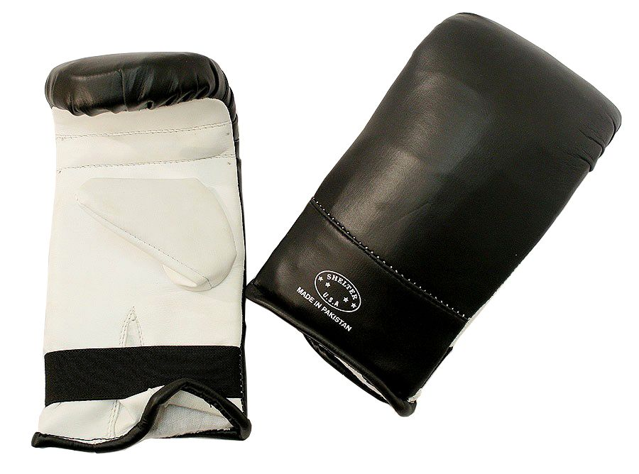 Last Punch Ultimate Fight Punch Bag Gloves  Black& White S M L XL Size