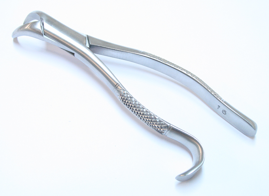 Dental Instrument 16 Extracting Forceps Stainless Steel
