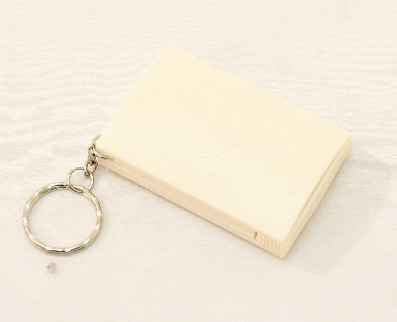 White Pocket Illuminated Magnifier