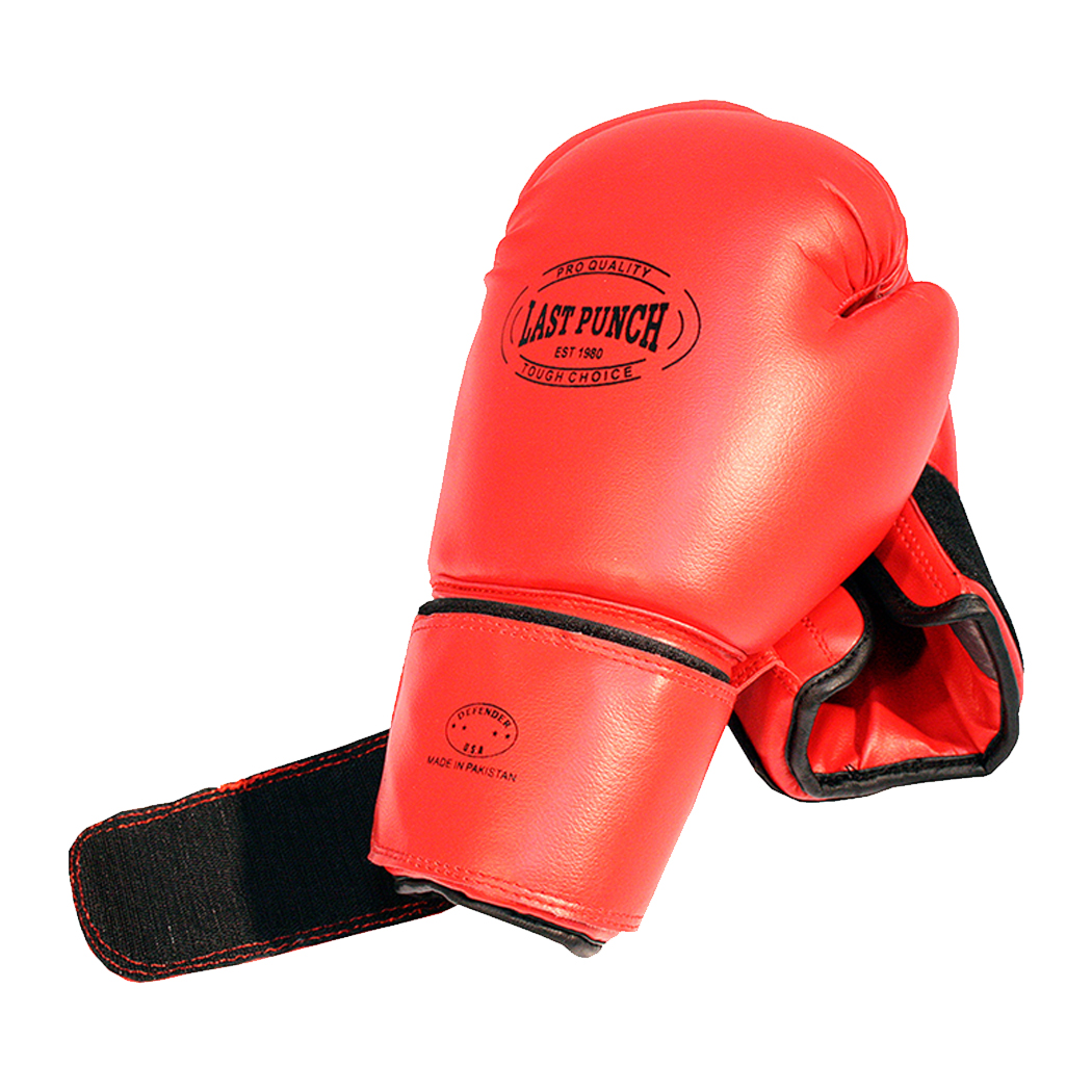 Pair of Pro Boxing Glove For Professional Boxers New Red