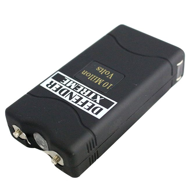Defender Xtreme 10 Million Volt Black Stun Gun