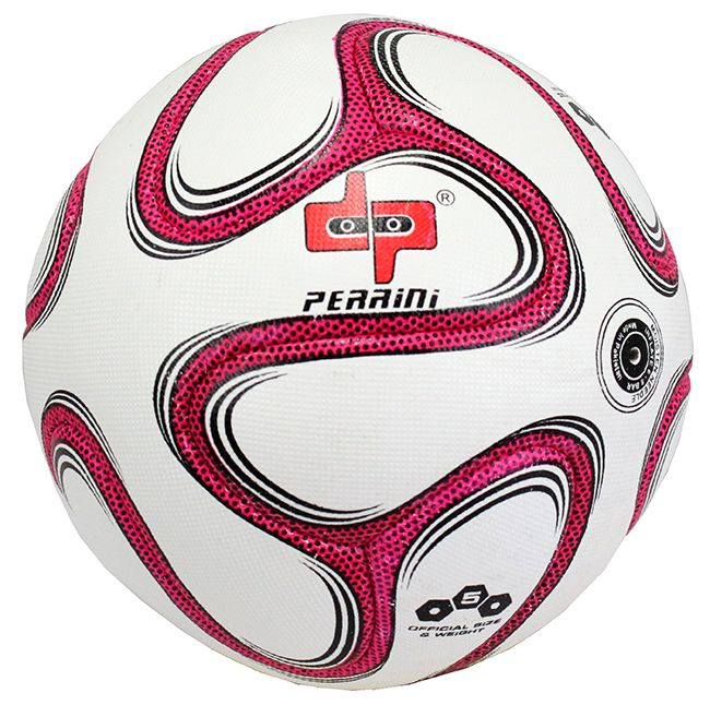 Perrini Match Brazuca Soccer Ball Training Football Pink Official Size 5