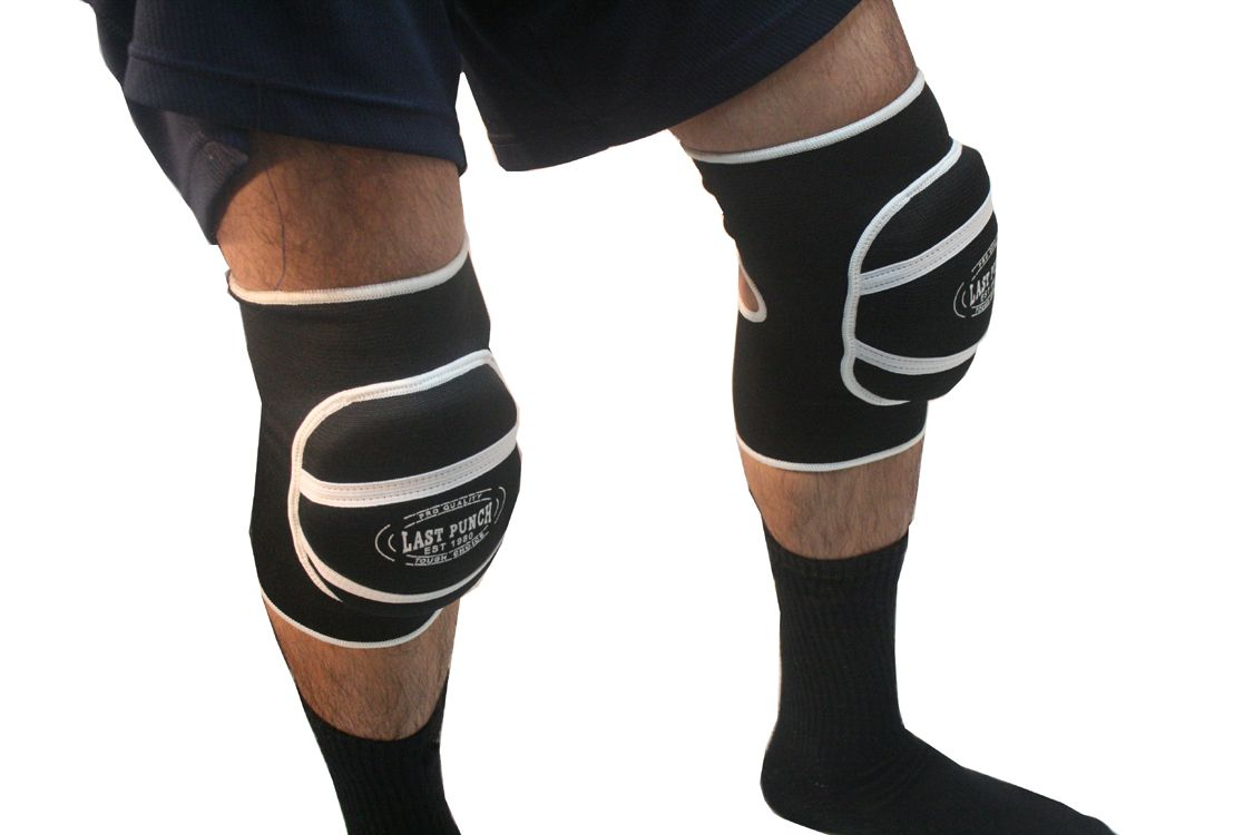 Black Professional Protective Knee Pads Good Quality S to XL Size