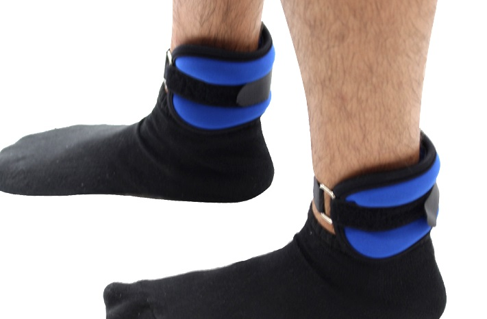 3LB Blue Colored Wrist/Ankle Weights