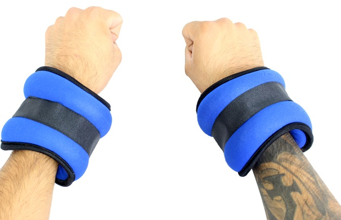 2LBS Perrini Blue Wrist/Ankle Weights