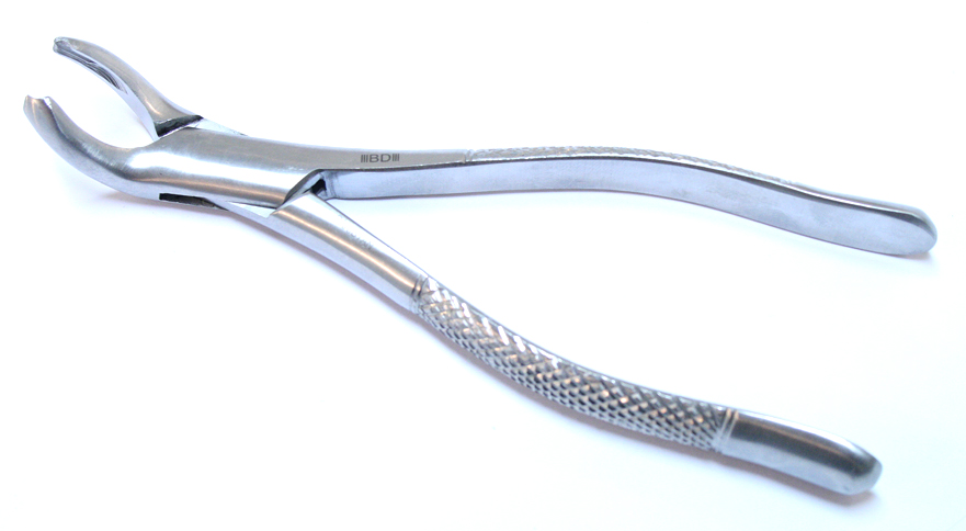 1pc Dental Instrument Extracting Forceps 17 Stainless Steel