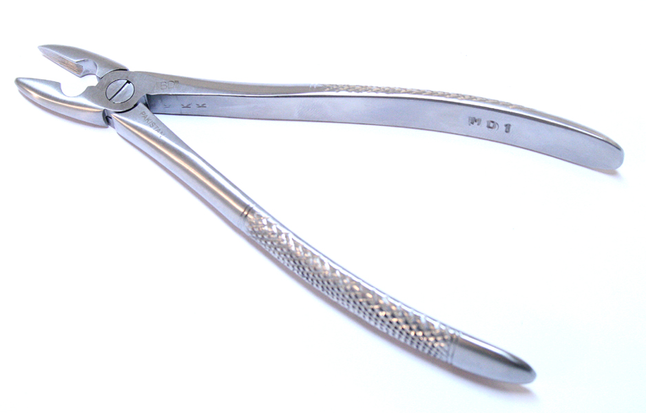 Dental Instruments 1MD Extracting Forceps Stainless Steel