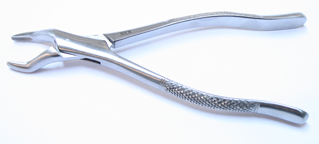210S 1pc Dental Instrument Extracting Forceps Stainless Steel