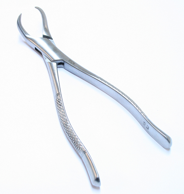 1pc Dental Instrument 23 Extracting Forceps Stainless Steel