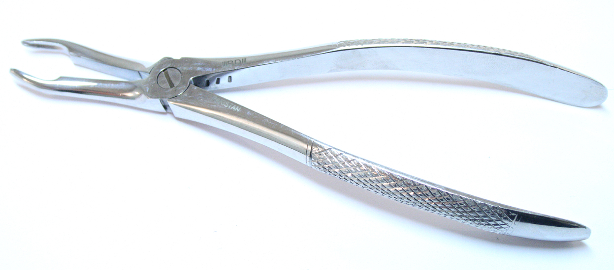 46 1pc Dental Instrument Extracting Forceps Stainless Steel