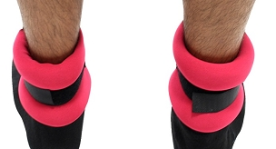 3LB Red Colored Wrist/Ankle Weights