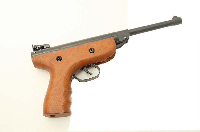 5.5 mm Air Pistol Wood Finish Body