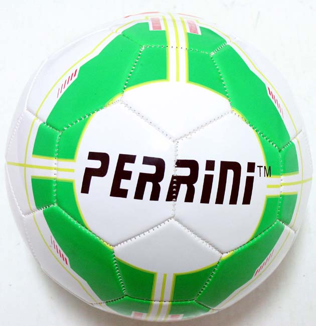 Indoor Outdoor Green & White Color Soccer Ball Size 5