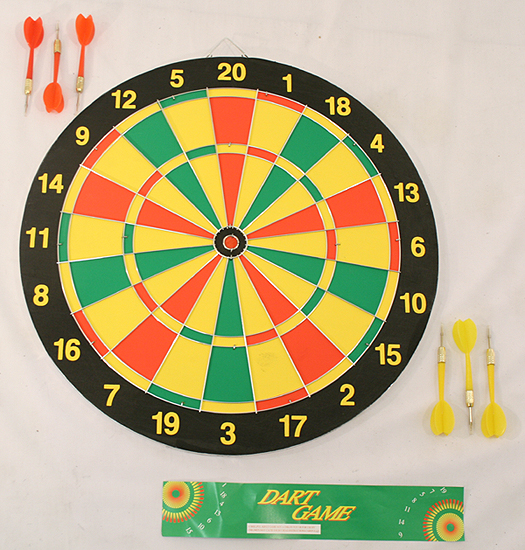Dart Game Double Sided Dart game