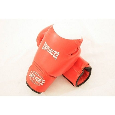 Red Wholesale 16oz Boxing Gloves Heavy Duty Enforcer